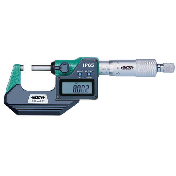 Panme điện tử đo ngoài Insize 3108_2