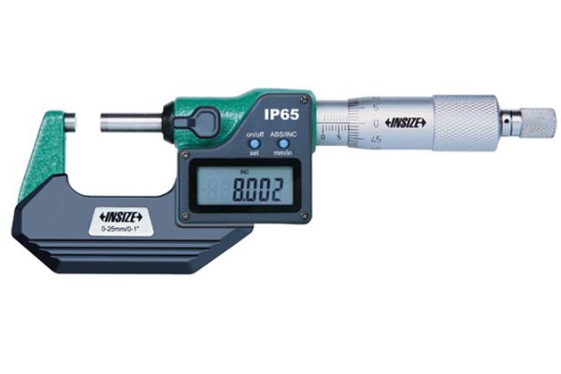 Panme điện tử đo ngoài Insize 3108