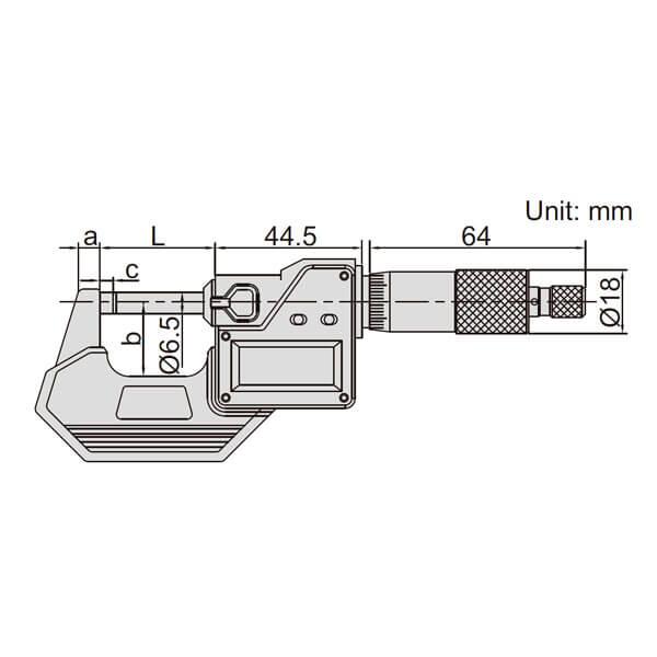 Panme điện tử đo ngoài Insize 3108_3