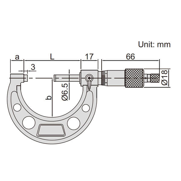 Panme đo ngoài Insize 3203_5