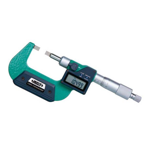 Panme điện tử đo đường kính rãnh Insize 3532_2