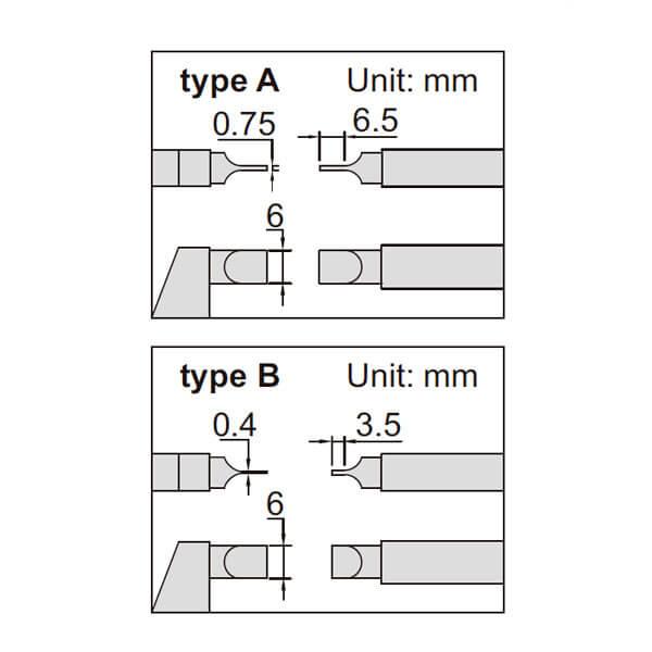 Panme điện tử đo đường kính rãnh Insize 3532_4