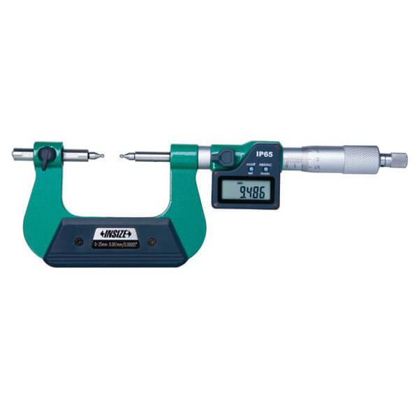 Panme điện tử đo bánh răng Insize 3591_2