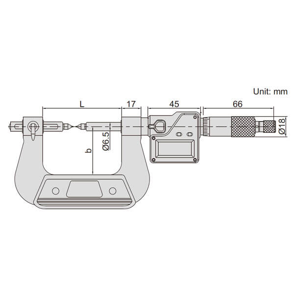 Panme điện tử đo bánh răng Insize 3591_3