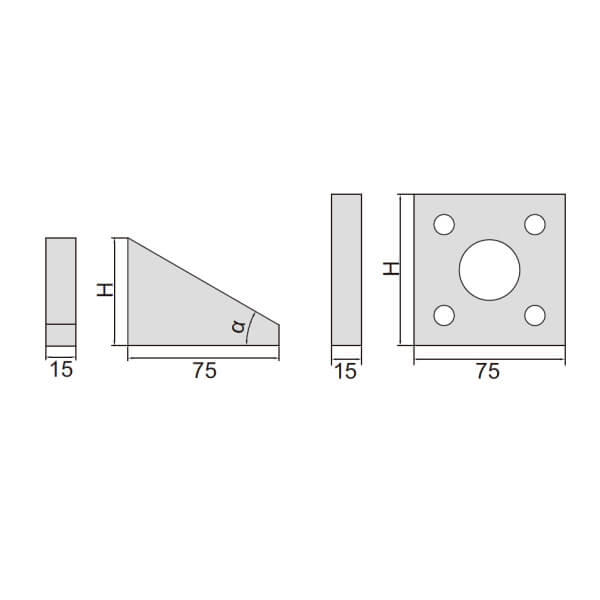 Khối mẫu chuẩn đo góc Insize 4002_2
