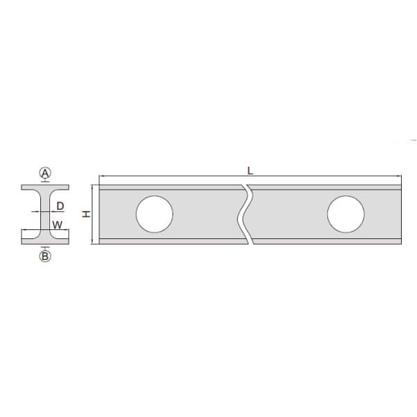 Thước đo độ thẳng bằng Magnalium Insize 4180_3
