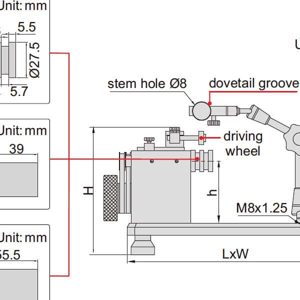 Thiết bị đo đồng tâm Insize 4725_5