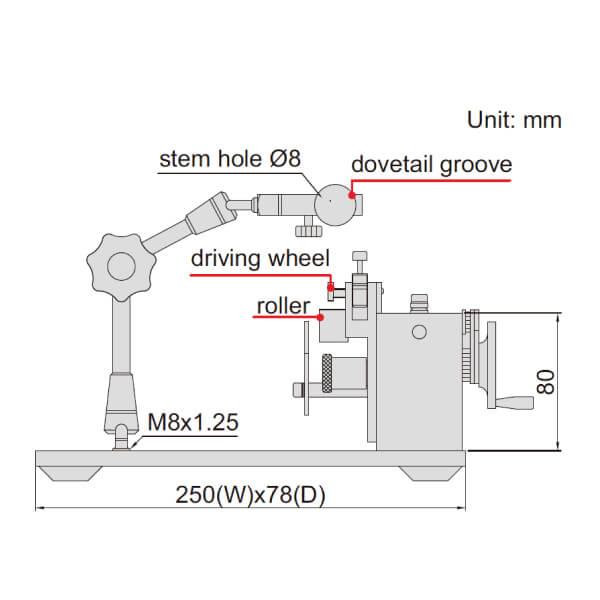 Thiết bị đo đồng tâm Insize 4789_3