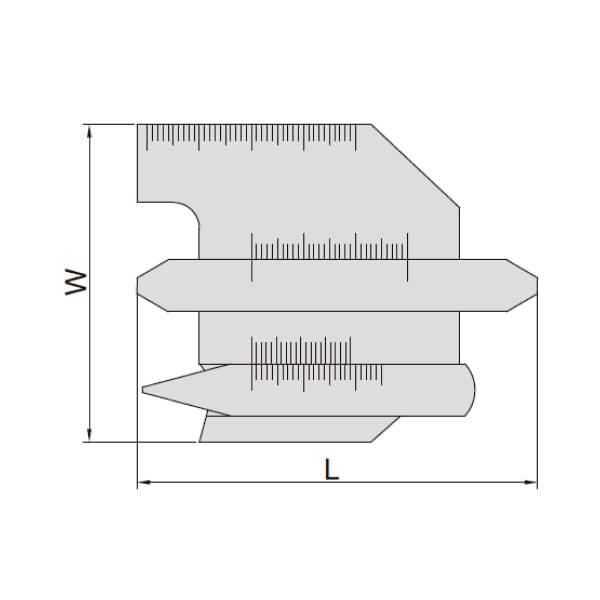 Set thước đo mối hàn Insize 4838_2
