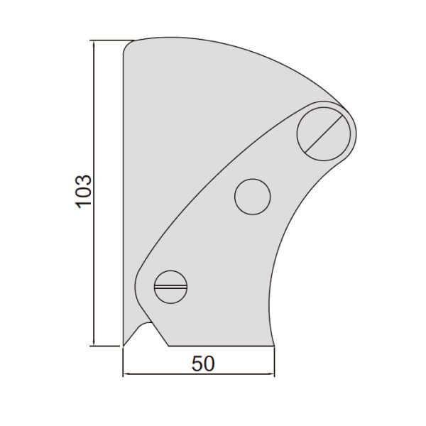 Thước đo mối hàn Insize 4840_2