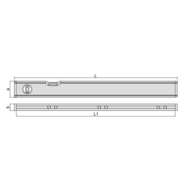 Thước thủy (nivo) điện tử đo độ dốc _3