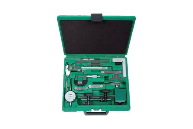 Bộ dụng cụ đo cơ khí chính xác 13 chi tiết Insize 5013