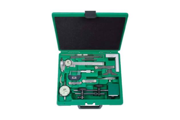 Bộ dụng cụ đo cơ khí chính xác 13 chi tiết Insize 5014