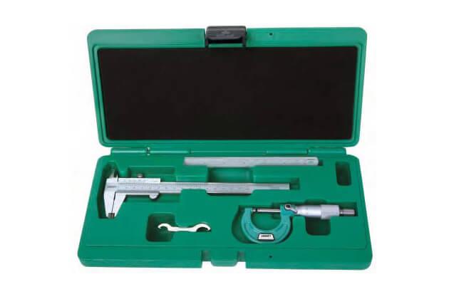 Set thước kẹp và panme đo ngoài cơ khí 3 chi tiết Insize 5032