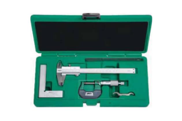 Bộ dụng cụ đo cơ khí chính xác 4 chi tiết Insize 5041