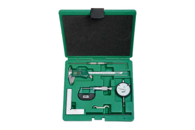 Bộ dụng cụ đo cơ khí chính xác 6 chi tiết Insize 5061