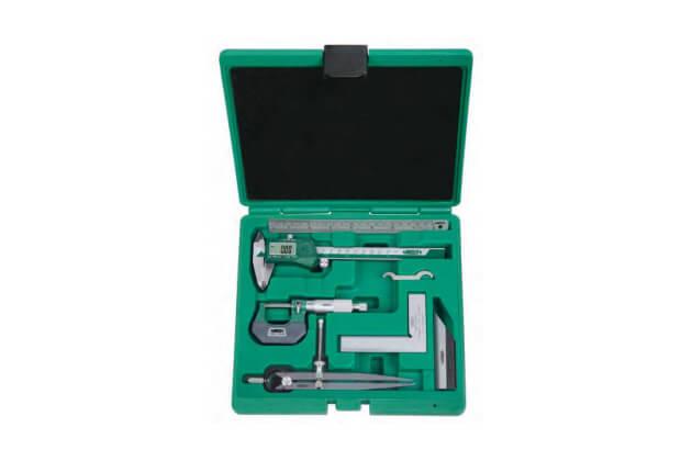 Bộ dụng cụ đo cơ khí chính xác 6 chi tiết Insize 5062