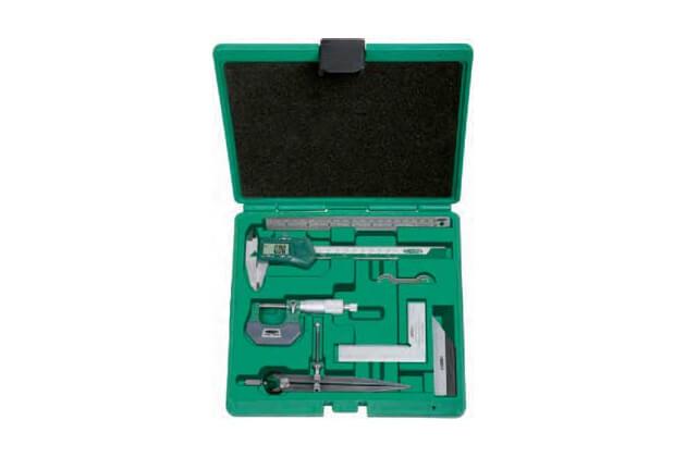 Bộ dụng cụ đo cơ khí chính xác 6 chi tiết Insize 5063