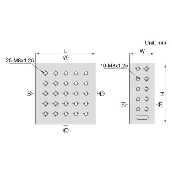 Khối căn góc phải Insize 6549_2