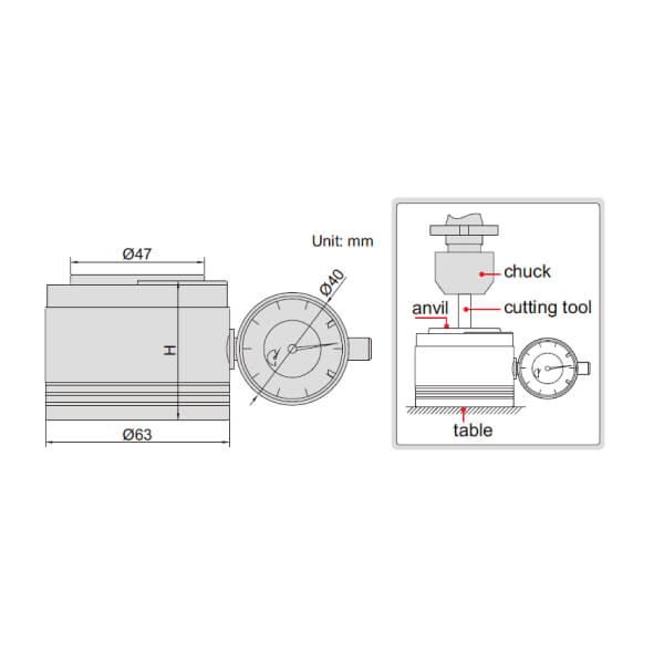 Dụng cụ sét 0 (sét Z) Insize 6556_2
