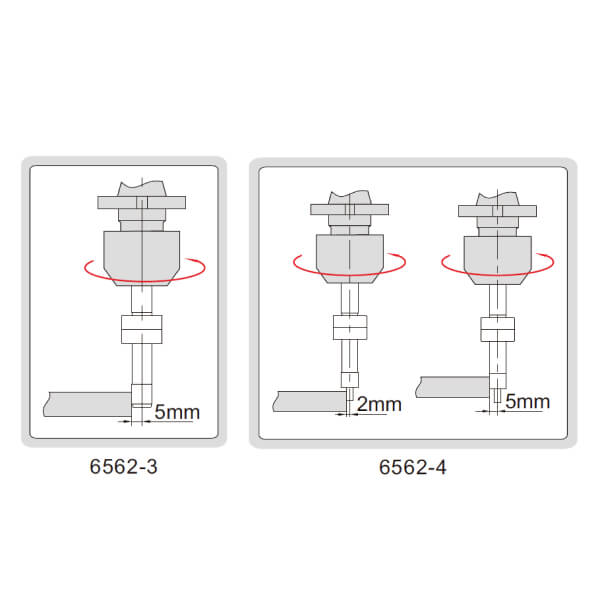 Đầu rà biên CNC Insize 6562_3