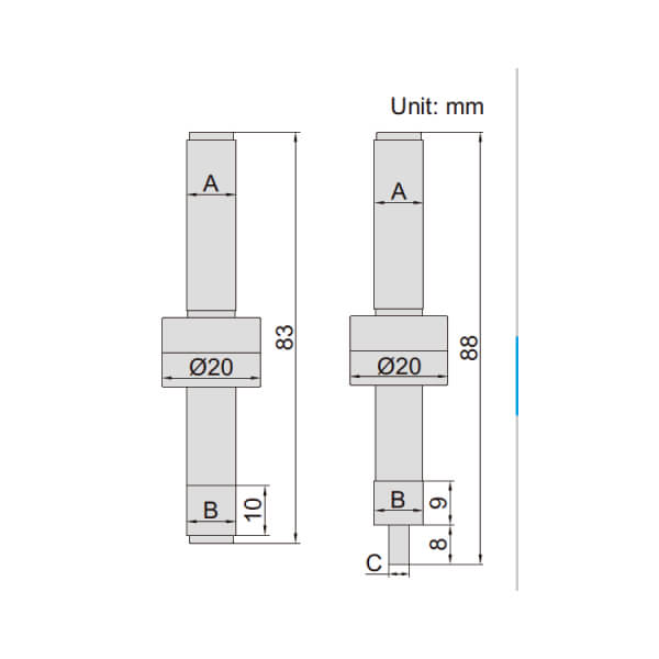 Đầu rà biên CNC Insize 6562_4