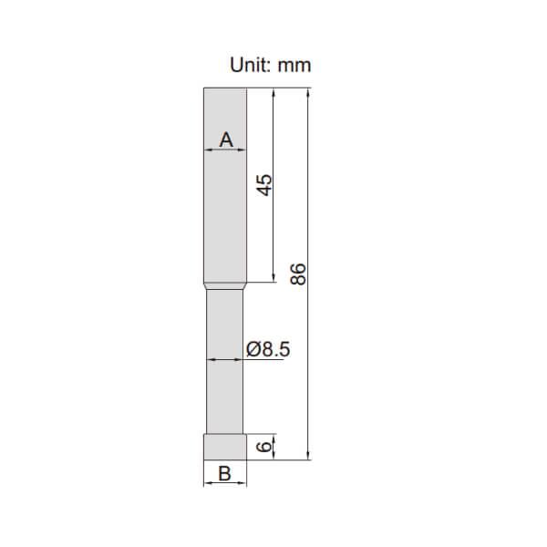 Đầu rà biên CNC loại Ceramic Insize 6568_2