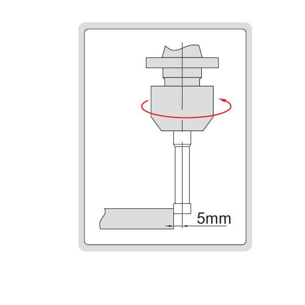 Đầu rà biên CNC loại Ceramic Insize 6568_3