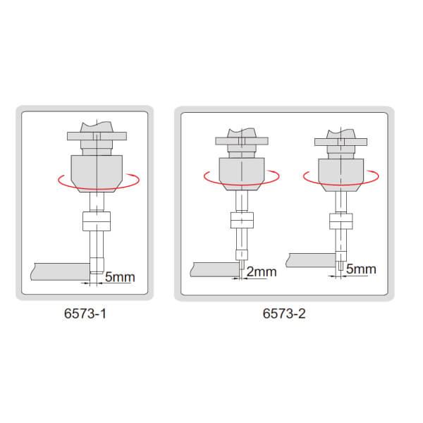 Đầu rà biên CNC loại chống từ tính Insize 6573_3