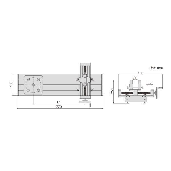 Bộ gá hiệu chuẩn cờ lê lực Insize IST-TS500_3