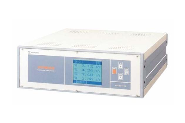Máy đo gió đa kênh 16 mô-đun Kanomax 1550