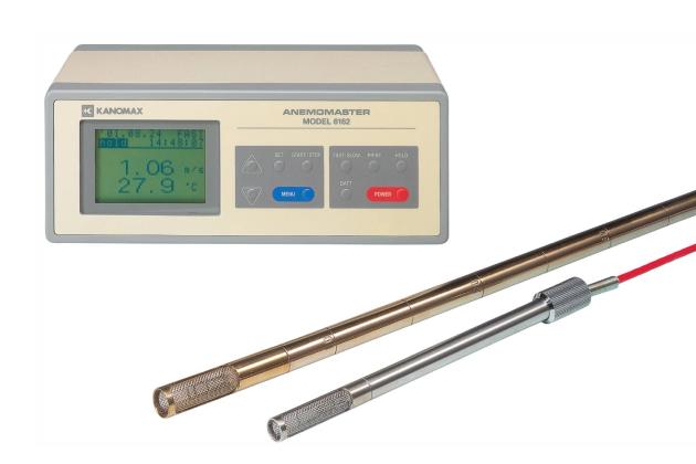 Máy đo gió nhiệt độ cao Kanomax 6162