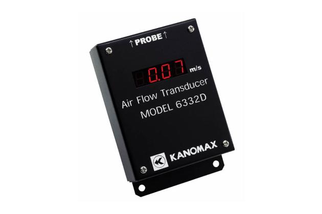 Cảm biến đo tốc độ gió có màn hình Kanomax 6332D
