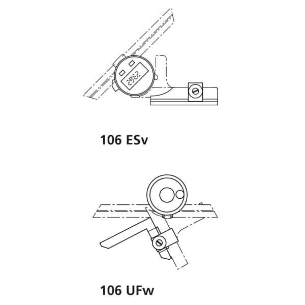 Thước đo góc vát vạn năng MarTool 106 UF_3