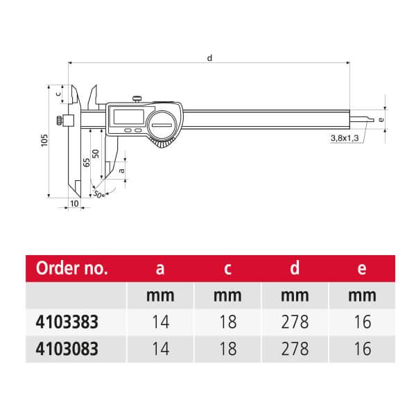 Thước kẹp điện tử cho ứng dụng đặc biệt MarCal 16 EWRi-VS / 16 EWR-VS_3