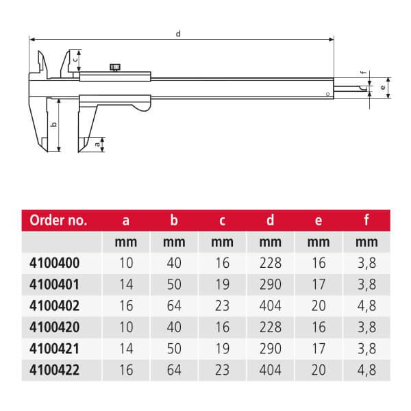 Thước kẹp cơ khí MarCal 16 FN_2