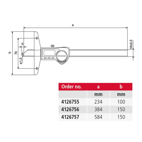 Thước đo sâu điện tử MarCal 30 EWR_2