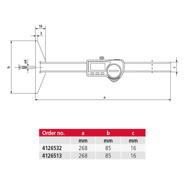 Thước đo sâu điện tử MarCal 30 EWR-N_2