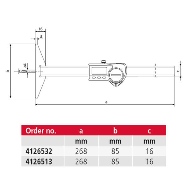 Thước đo sâu điện tử MarCal 30 EWRi-N_2