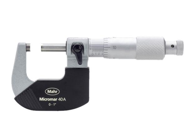 Panme cơ khí Micromar (hệ inch) 40 A