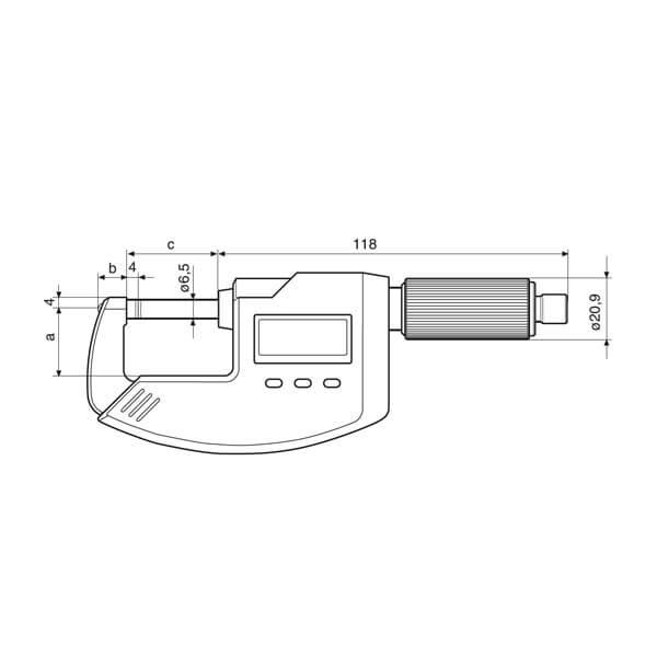 Panme điện tử Micromar 40 EWR_3