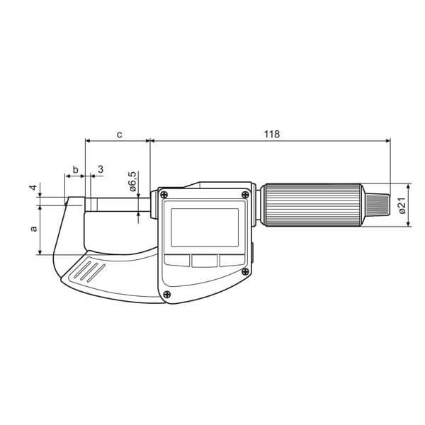 Set Panme điện tử Micromar 40 EWRi_3