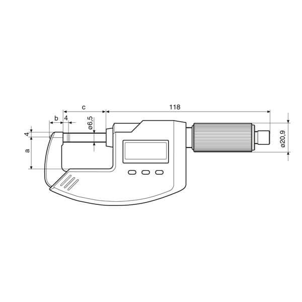 Panme điện tử Micromar 40 EWS_3