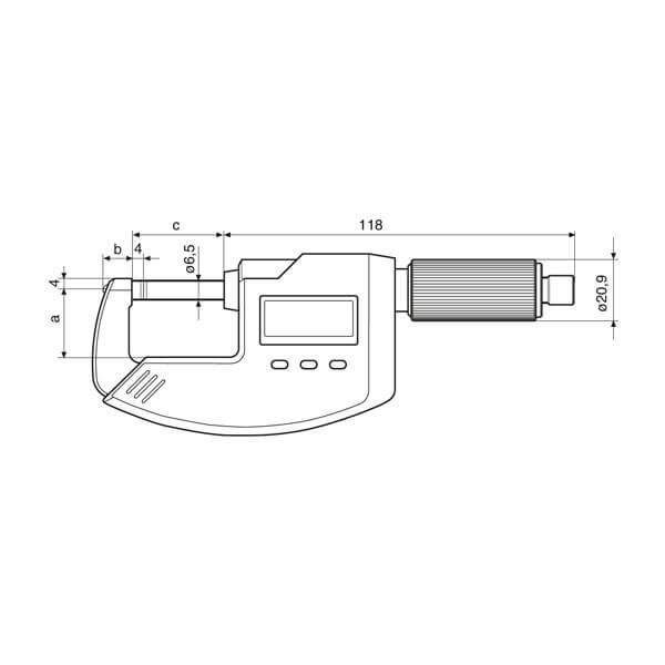Panme điện tử Micromar 40 EWV_3