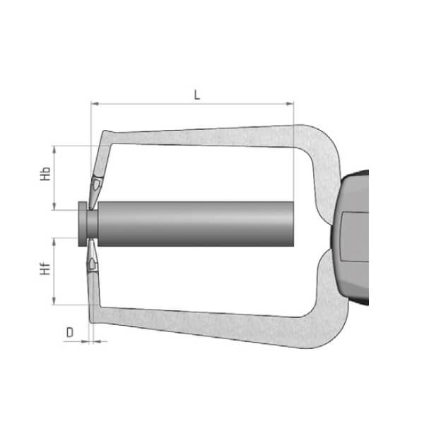 Ngàm đo kích thước loại đồng hồ MaraMeter 838 TA_2