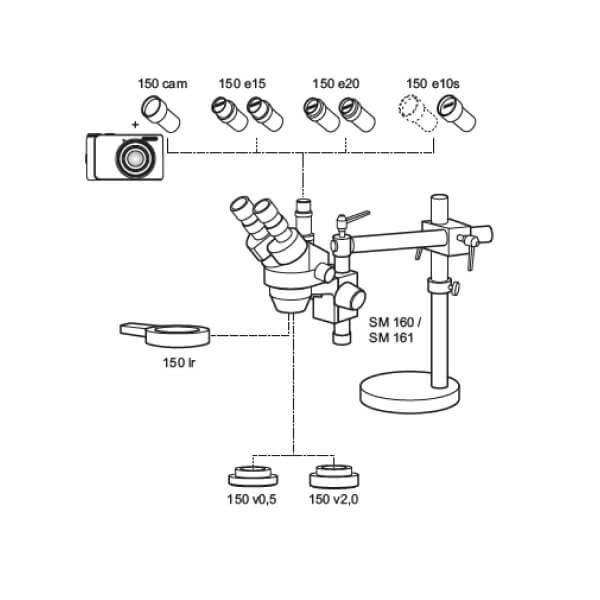Kính hiển vi soi nổi MarVision SM 160 / SM 161_2