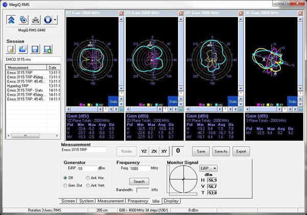 Hệ thống đo bức xạ đến 6 GHz RMS-0460_3