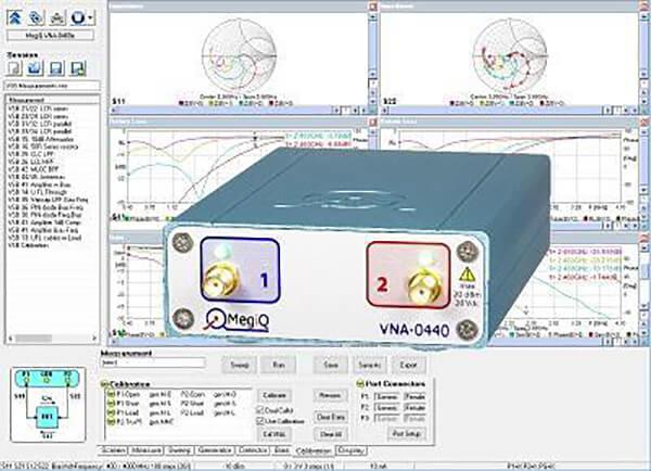Máy phân tích mạng vector 2 cổng 6 GHz VNA-0460_2