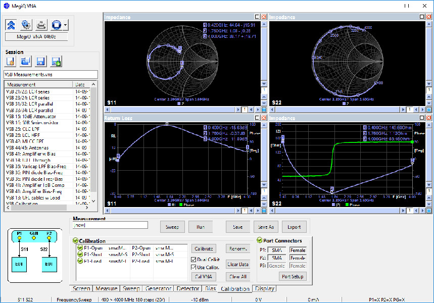 Máy phân tích mạng vector 3 cổng 6 GHz VNA-0460e_4