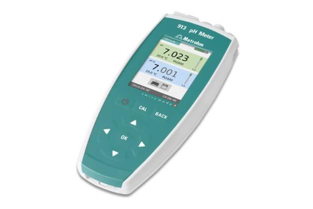 Máy đo pH/nhiệt độ/ORP cầm tay Metrohm 913